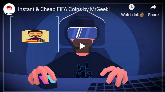 MrGeek FIFA 21 Coins Player Auction