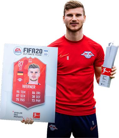 POTM Timo Werner November 2019 Bundesliga
