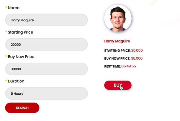 寻找球员转移市场FIFA 20球员拍卖MrGeek