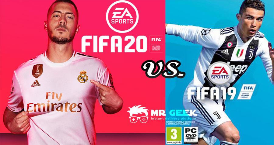 FIFA 20 vs. FIFA 19