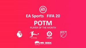 fifa 20 potm الدوري الإنجليزي الممتاز