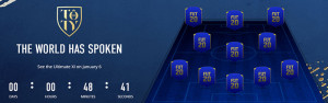 TOTY Ultimate XI - The Team of the Year for FUT 20