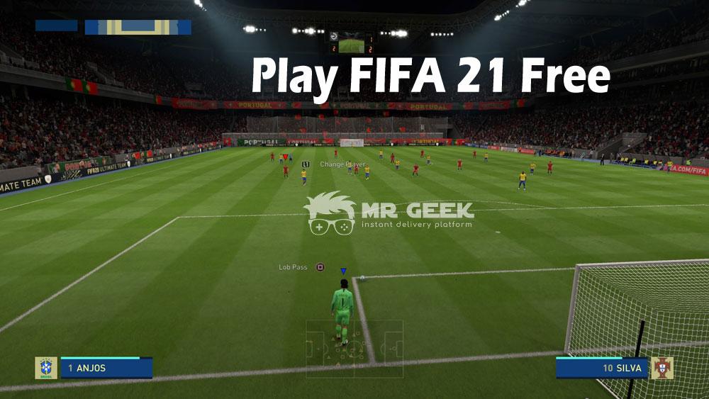 CÓMO JUGAR A FIFA 21 SIN CARGO
