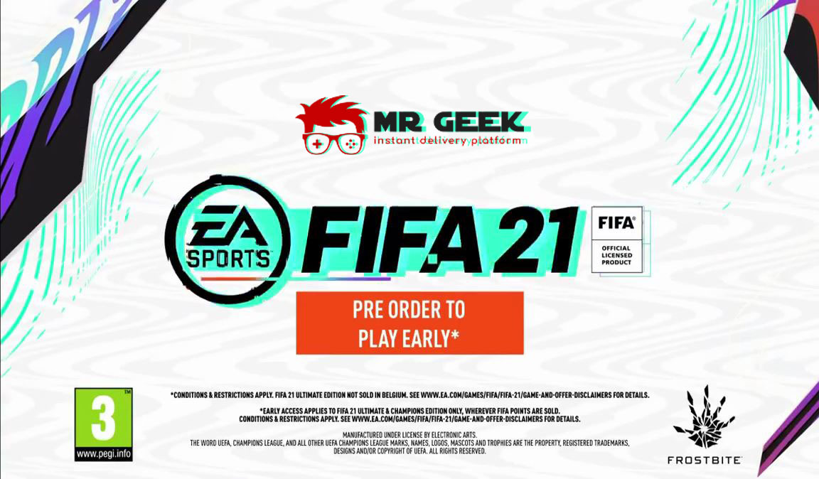 FIFA 21在这里!我们一起玩吧!