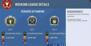 FIFA 20 Weekend League Tips