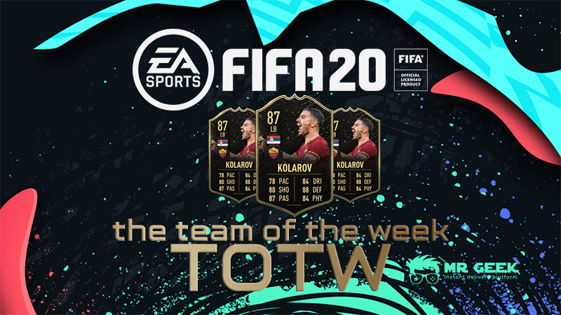 FIFA's Team of the Week TOTW