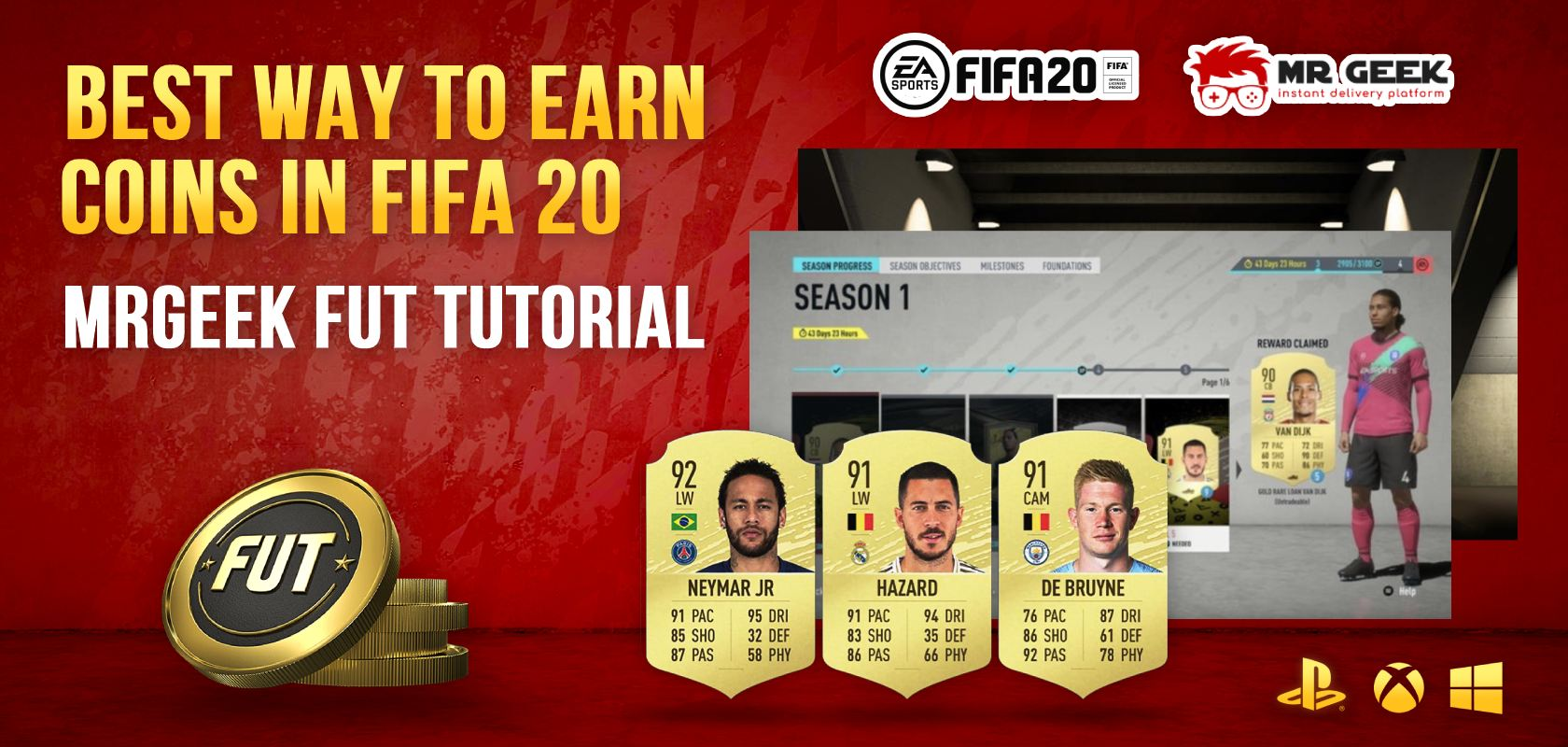 Best Way to Earn Coins in FIFA 20 - MrGeek FUT Tutorial